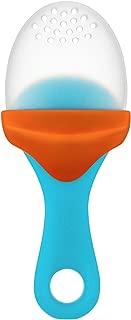 Boon Pulp Silicone Feeder, Blue/Orange