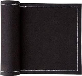 Cotton Dinner Napkin - 12.6 x 12.6 in - 12 units per roll - Black