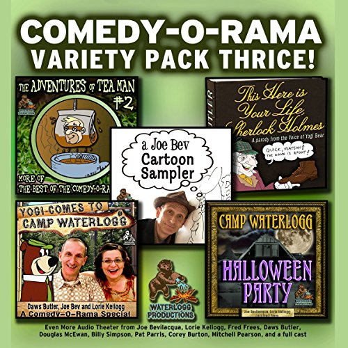 Comedy-O-Rama Variety Pack Thrice audiobook cover art