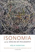 Isonomia and the Origins of Philosophy