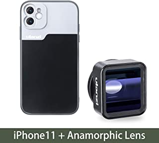 $51 » RONSHIN 17mm Thread Phone Case for iPhone 11/11 Pro/11 Pro Max Anamorphic Lens Protect Smartphone Shakeproof Solid Cover For iPhone 11 case+Anamorphic Lens Electronic Accessories