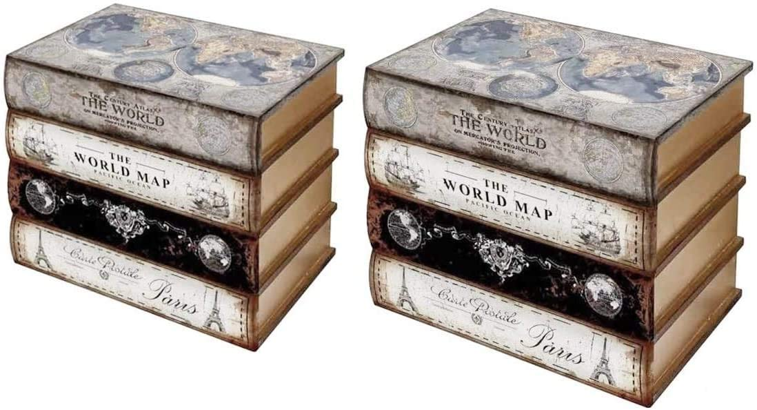 Bellaa Limited price sale 27932 Max 55% OFF Decorative Bookends Book Stoppers Holder Hidd Shelf