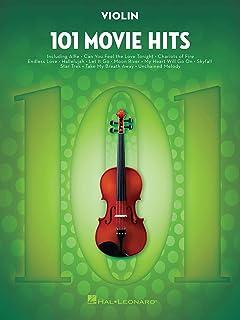 101 Movie Hits for Violin (VIOLON)