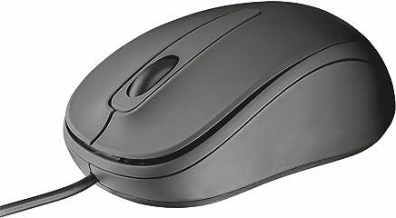 Trust Mouse Ottico Usb Trust Ziva 3 Pulsanti Nero Sensore 1000 dpi Per Utenti Destri e Mancini Elegante - Trova i prezzi più bassi