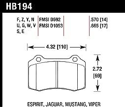 Hawk Performance HB194U.570 DTC-70 Brake Pad
