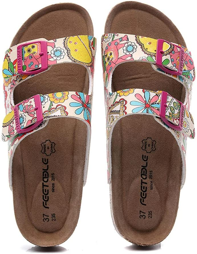 COQUI Fresno Mall Cork Sandals Year-end gift Slippers Female Wearing Casual Summer Fashion