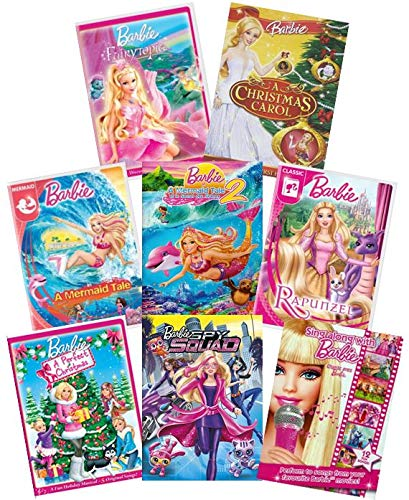 Ultimate Barbie 8-Movie DVD Collection: Fairytopia/A Christmas Carol/A Mermaid Tale/A Mermaid Tale 2/A Perfect Christmas/Rapunzel/Spy Squad/Sing Along Barbie