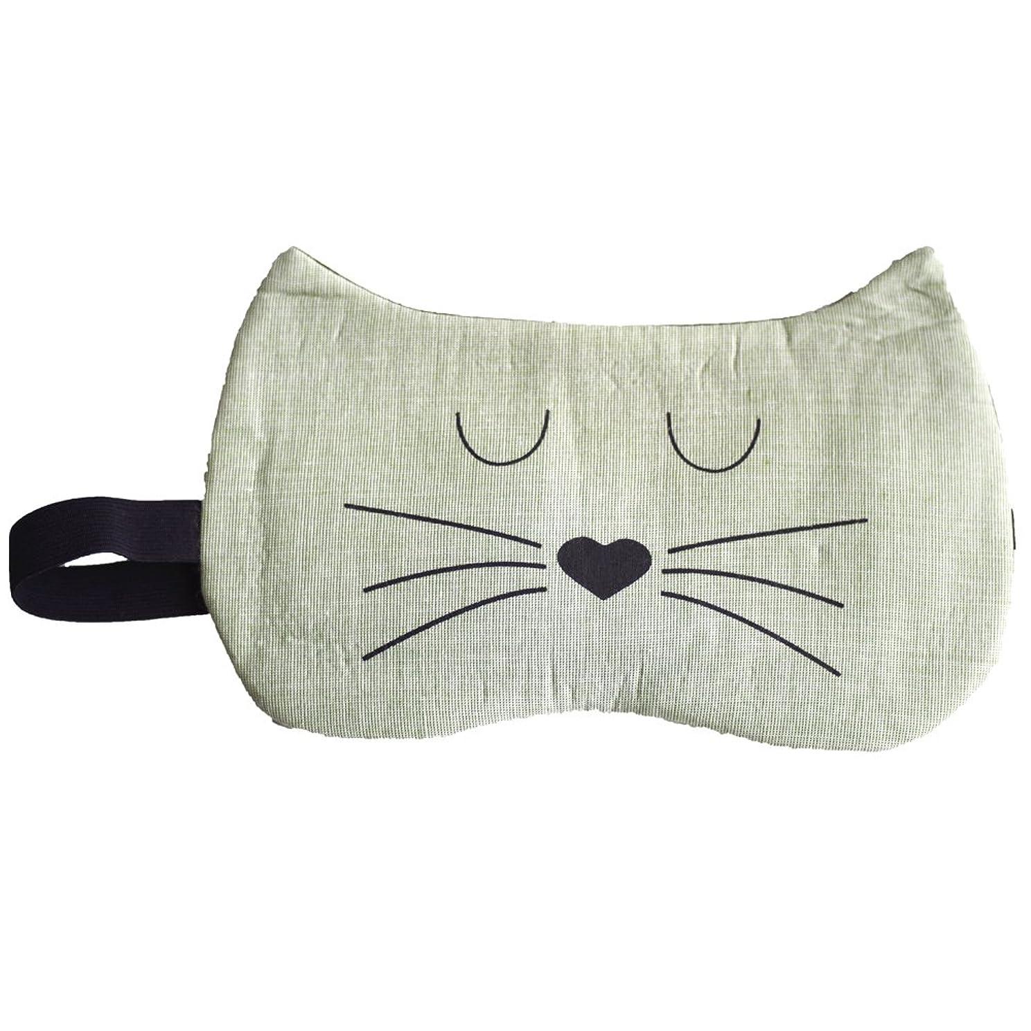 マイナス金貸し社員クールアイマスク ねこ アイマスク 猫 (D type)