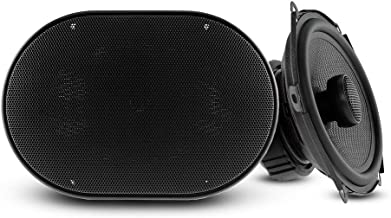 """DS18 Elite Z-574 Pair of 5""""x7"""" 2-Way Coaxial Speakers with Neodymium Tweeters - 4 Ohms - 90 Watts RMS - 150 Watts Max photo"""