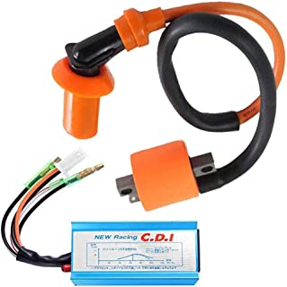 Racing Performance Ignition Coil for Polaris Sportsman 90 Scrambler 90 Predator 90 with CDI