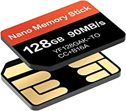 NM Card 128GB 90MB/S Nano Memory Card Mirco SD Card Compact Flash Card, only Suitable for Huawei P30P30pro and Mate20 Series NM 128GB Card