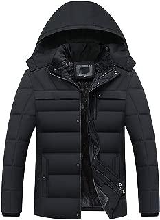 Winter Jacket Men -20 Degree Warm Men Parkas Hooded Coat Fleece Man's Jackets Outwear