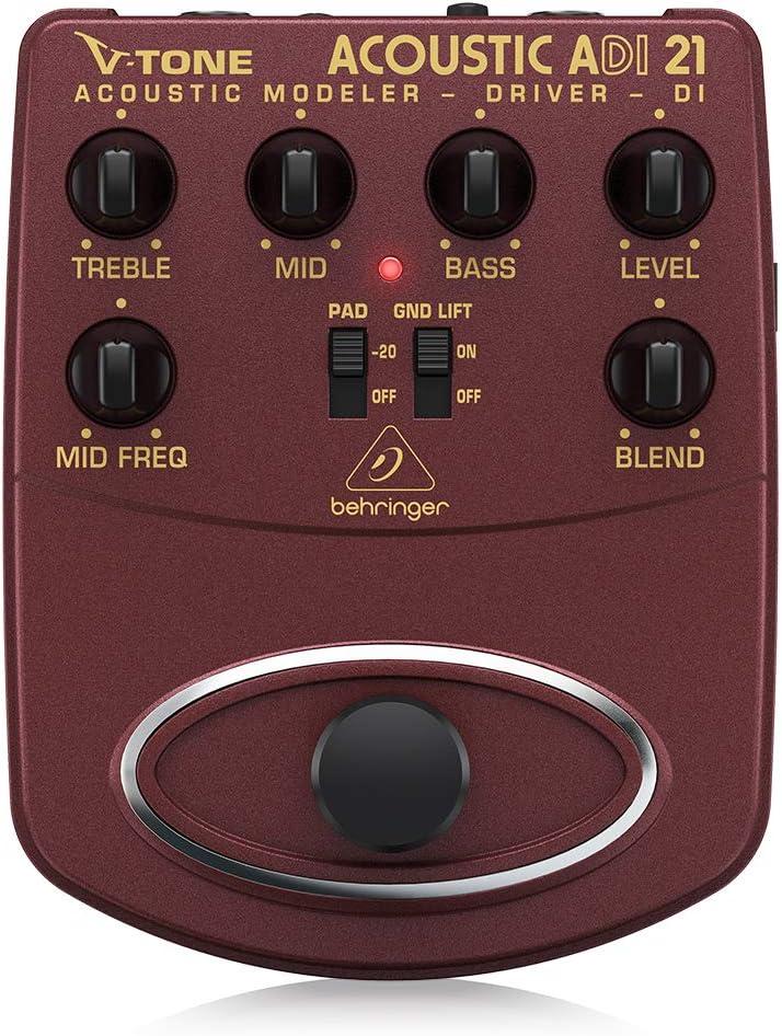 Behringer V-Tone Acoustic Driver 100% quality warranty DI Direct Amp Rec ADI21 Modeler ! Super beauty product restock quality top!