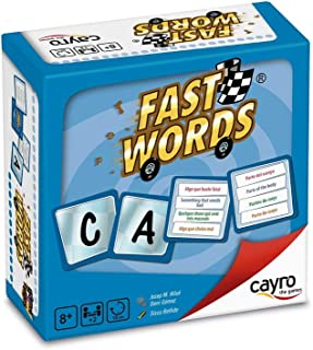 CAYRO THE GAMES Fast Words, Multi-Colour,