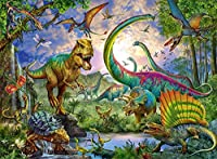 4-80歳に適しており ジグソーパズル 恐竜たち Im Reich der Giganten 1000ピース 300/500/1000/1500