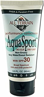 All Terrain - Aqua Sport Spf 30, 3.0 fl oz cream