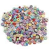 Button DIYジュエリー装飾ファインディングアクセサリー用25pcs / lotのラブリーチャーミング混合色ポリマークレイビーズルースビーズスペーサーを (Color : Copper)