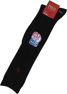POLO 婦人ワンポイント刺繍ハイソックス(32cm丈-40cm丈) pl0287