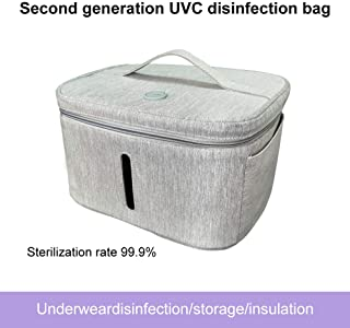 Dis-Infection Bag,USB Rechargeable Portable LED Underwear Dis-Infection Bag,Baby Bottle/Toothbrush/Beauty Tools/Jewelry/Underwear