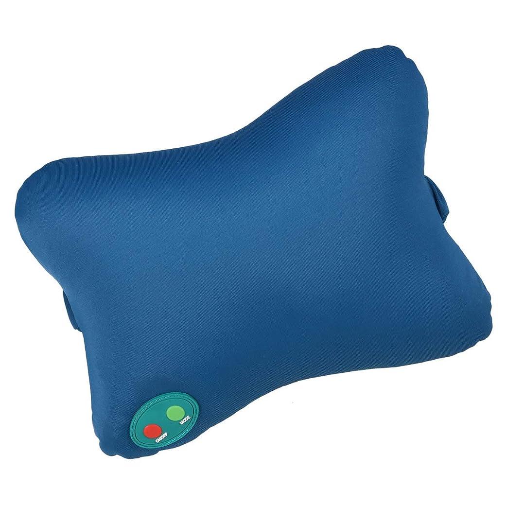 規模行世論調査SUPVOX マッサージ枕ポータブルマッサージャー首背中肩腕脚軽量ホームオフィスカー