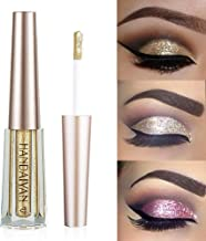 GL-Turelifes Diamond Glitter Liquid Eyeshadow & Eyeliner Pen Starry Sequins Mermaid Eye Shadow Long Lasting Shiny and Pigmented Waterproof Sparkling &Shimmer Eyes Makeup(#1 Light Gold)