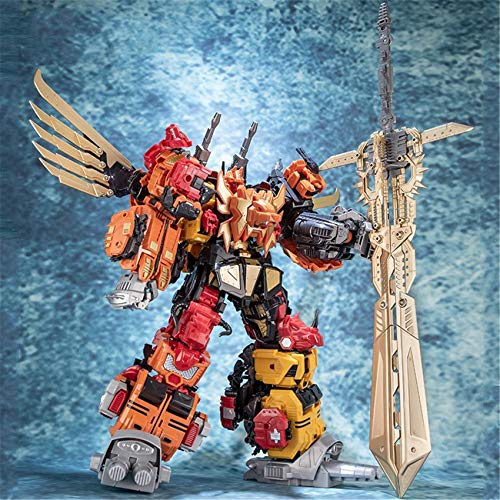 Coo-kid Transformers Toys-18 Inch Transformers Deformation Alloy Action Figure Transformers 1 Sets of 5 Collection Toys