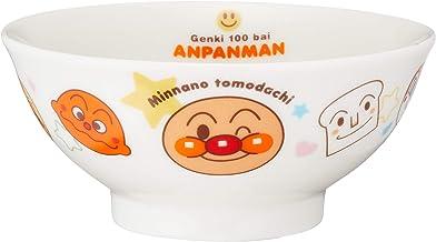 「 それいけ!アンパンマン 」 お茶碗 直径10.5cm 子供用 食器 白 074501