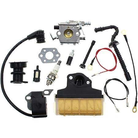 Fuel filler cap petrol screwed Suitable for Stihl 026
