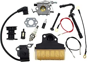 AISEN Replace MS250 Carburetor Ignition Coil for Stihl 021 023 025 MS210 MS230 MS 250 Chainsaw WT-286 WT-215 C1Q-S11E C1Q-S11G Air Filter