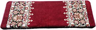 JIAJUAN Antifouling Stair Carpet Treads Wear Resistant Non-Slip Rugs Mats Home, 2 Styles, 3 Sizes, Customizable (Color : R...