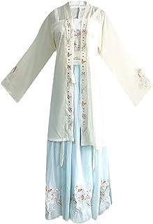 حانفو زي Chinese Elements Hanfu Costume for Women Traditional Princess Fairy Dress Retro Style Stage Dress Up Clothing (Co...