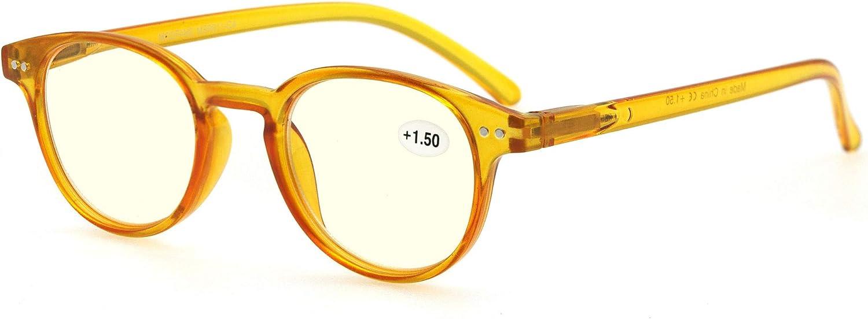 MODFANS Gafas Anti luz Azul/Gafas de Ordenador para Hombres y Mujeres,Gafas con Filtro Luz Azul,Anti-UV,Anti-Fatiga Visual,Proteccion para Pantalla/TV/Tablet/Movil/Juegos/Smartphone