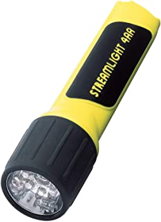 Streamlight 68200 4AA ProPolymer LED Flashlight with White LEDs, Yellow - 67 Lumens