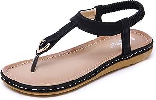 Women Beach Wear Flat Sandals Glitter Shoes Cruise Holiday Bohemian Flip Flops