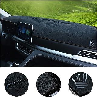 SureKit Car Custom Dash Cover for BMW X3 2005-2010, 2011-2017 2018 Auto Dashboard Pad DashMat Dash Board Cover (Black line)