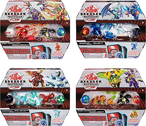 Bakugan Baku-Gear Pack mit 4 Armored...