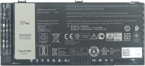 Dentsing 11.1V 97Wh 9 Cell Battery FJJ4W Compatible with Dell Precision M4600 M4700 M4800 M6600 M6700 M6800 FV993