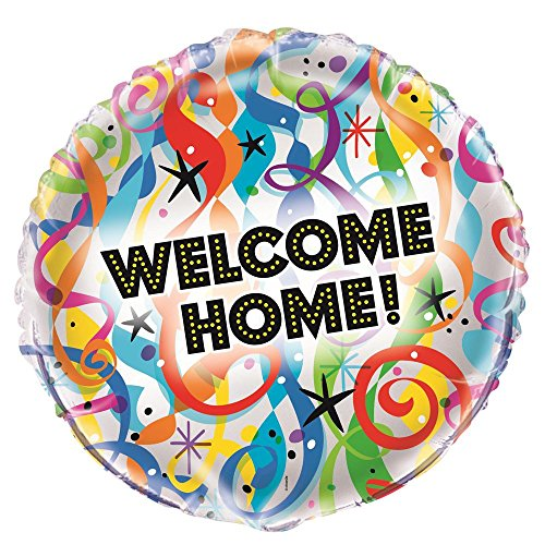 45,7 cm folie Bright Welcome Home Ballon