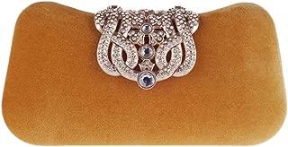 Honana Party bags for Women Ladies Women's Crown Rhinestone Evening Bag Clutch Purse Business Party Wedding Bags Women's Fashion