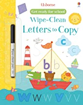 Wipe-Clean Letters to Copy (Get Ready for School Wipe-Clean Books)
