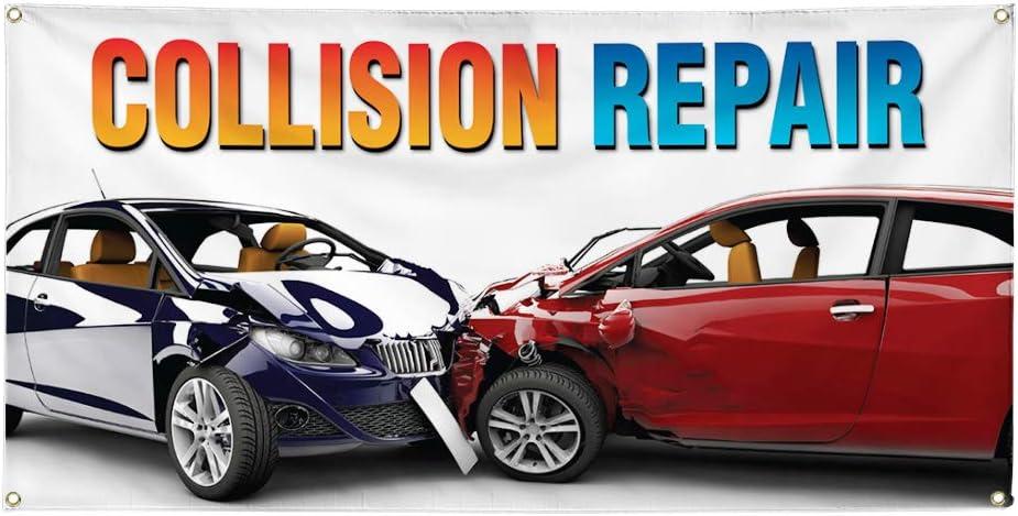Vinyl Max 53% OFF Banner Multiple Sizes Collision Vehicle cheap Car D Repair Auto
