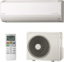 【商品配送のみ】日立 エアコン 18畳 5.6kW 白くまくん Dシリーズ RAS-D56L2(W)/SET 凍結洗浄 Light ステンレス・クリーン 室内機室外機セット (2梱包)