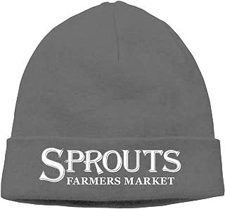 Adult Skull Cap Beanie Sprouts Farmers Market Knitted Hat Headwear Winter Warm Hip-hop Hat