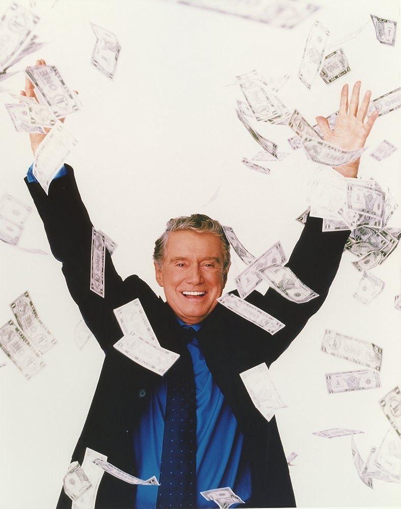 Regis & Kathie Portrait wearing Formal Suit Throwing Money Photo Print