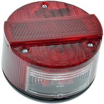 LED Mini Lauflichtblinker Satz f/ür Simson S50 S51 Blinkgeber Halter Schwarz