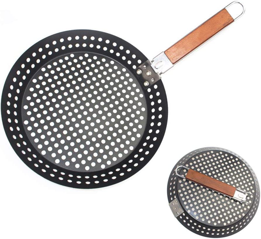 HAOXIANG 30Cm Pizza Super Special SALE held Pan with Plate Holes Discount mail order Home Baking