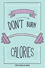 Fitness Journal for Women: Workout Exercise Notebook With Food Planner: Track your Fitness, Training & Measurement Body (fitness books)