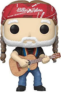 Funko Pop! Rocks: Willie Nelson, multicolor, 3.75 pulgadas