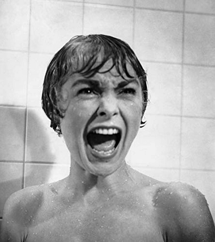 Amazon.com: Psycho Janet Leigh Shower Scene 1960 Photo Print (8 x 10):  Posters & Prints
