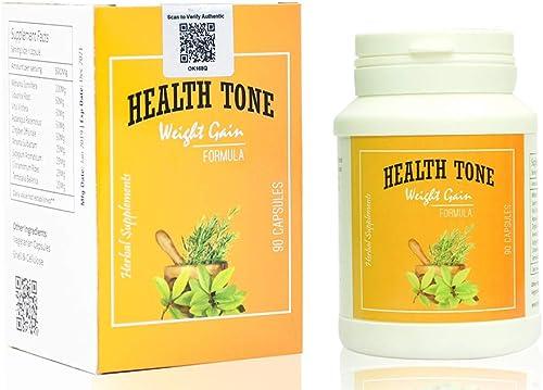 Health Tone Beautyplus1 Natural Health Tone Herbal Weight Gain Capsules 90 Pieces